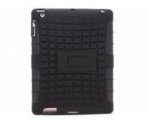 Zwart rugged hybrid case iPad 2 / 3 / 4