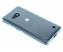 Turquoise transparant gel case Microsoft Lumia 550