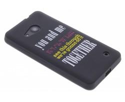 Glow in the dark TPU case Microsoft Lumia 550