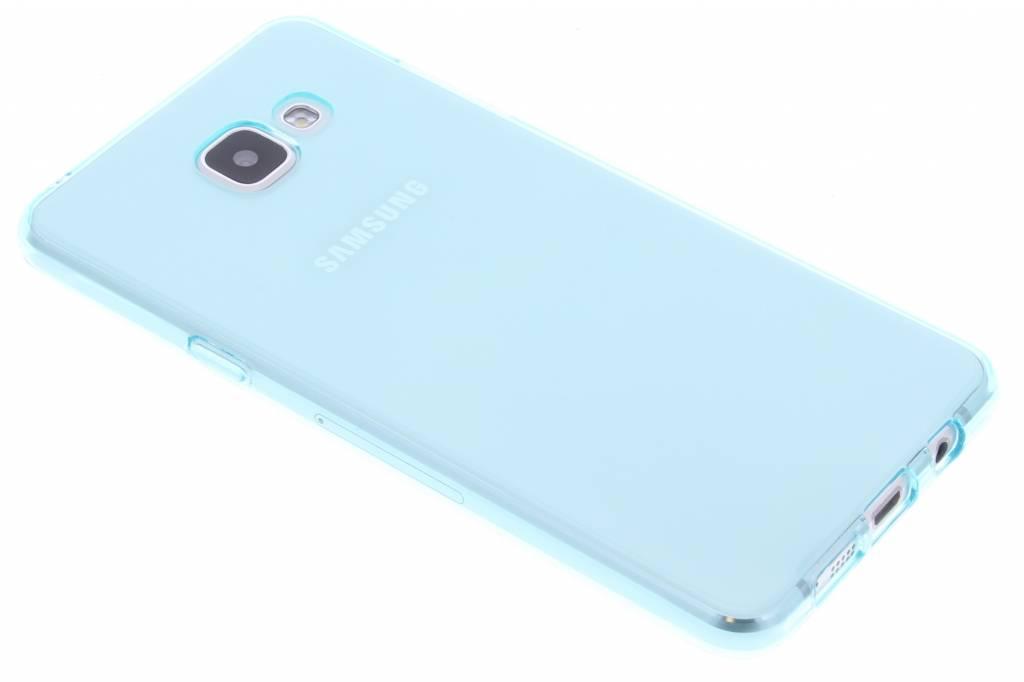 Turquoise transparante gel case voor de Samsung Galaxy A5 (2016)