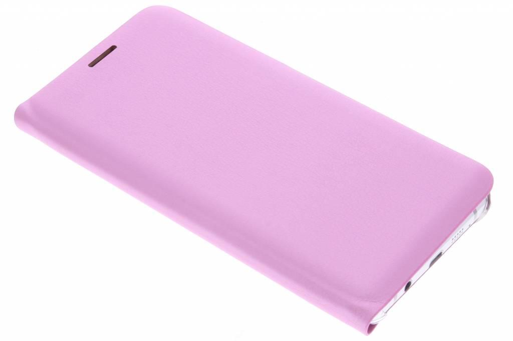 Roze luxe slim booktype hoes voor de Samsung Galaxy A5 (2016)