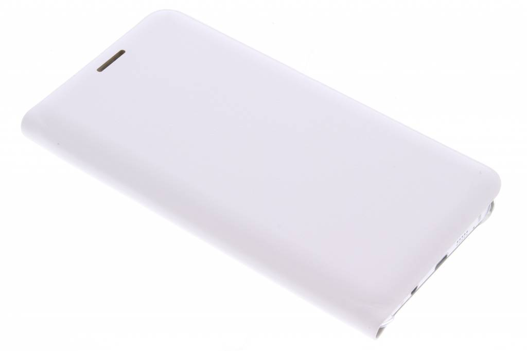 Witte luxe slim booktype hoes voor de Samsung Galaxy A5 (2016)