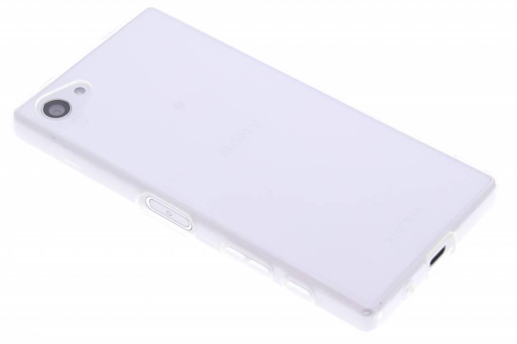 Transparant gel case hoesje voor de Sony Xperia Z5 Compact