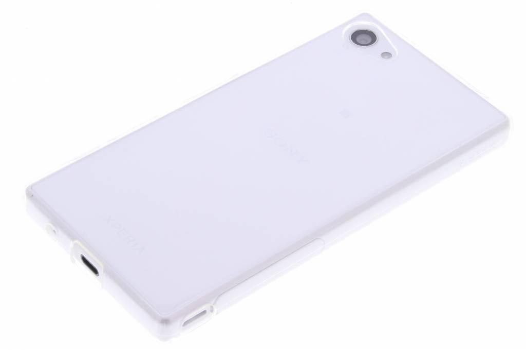 Orange, Cas Tpu Ultra Mince Transparent Pour Les Z5 Xperia Compacts Sony