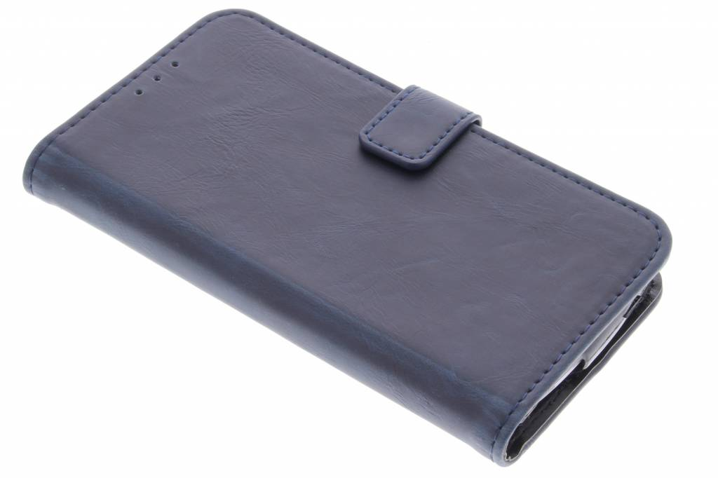 Donkerblauwe luxe leder booktype voor de Acer Liquid Z530