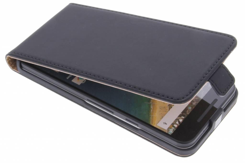 Luxe Flipcase voor de LG Nexus 5X - Zwart