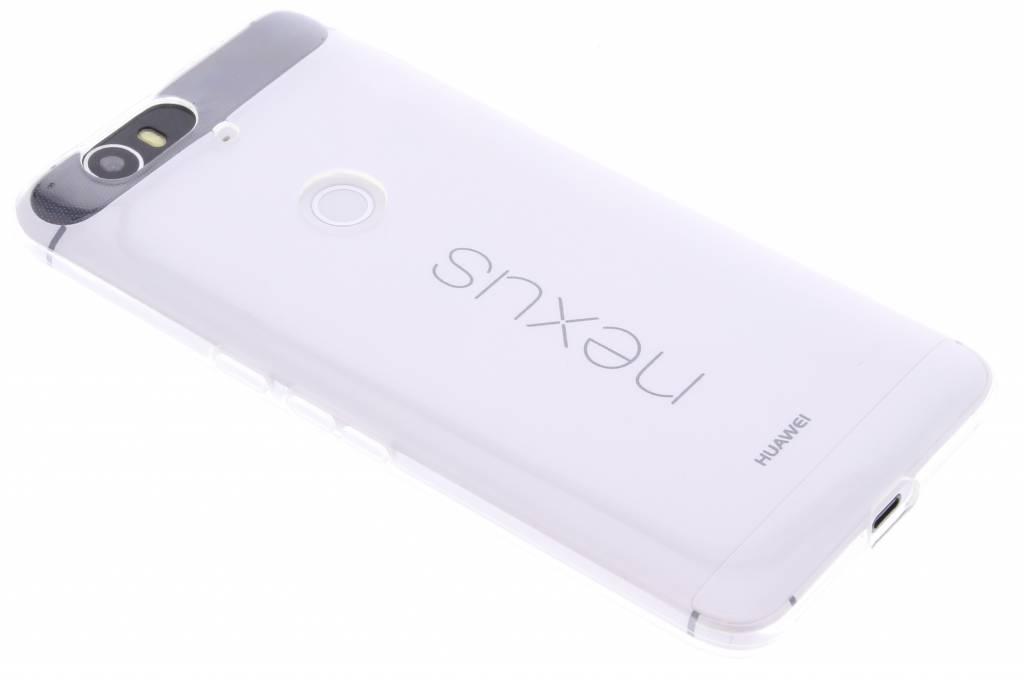 Transparante gel case voor de Huawei Nexus 6P