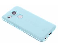 Transparant gel case LG Nexus 5X