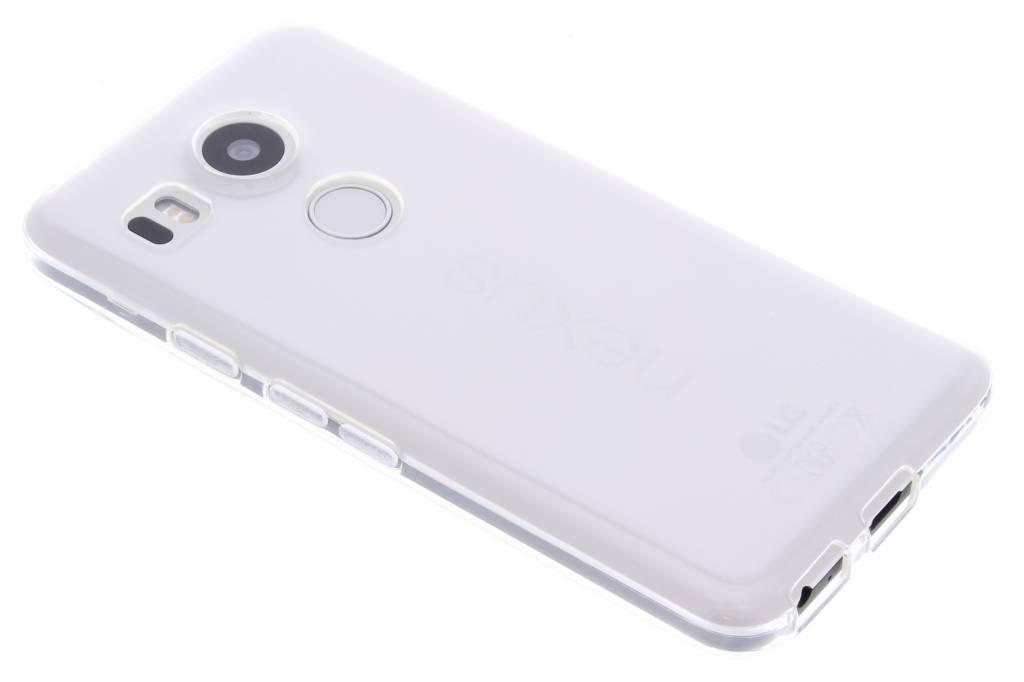 Transparante gel case voor de LG Nexus 5X