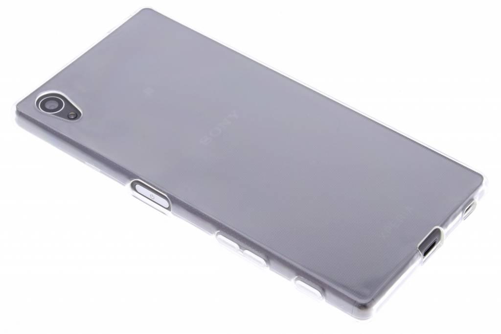 Transparant gel case hoesje voor de Sony Xperia Z5