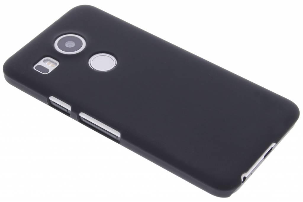 Zwart effen hardcase hoesje voor de LG Nexus 5X