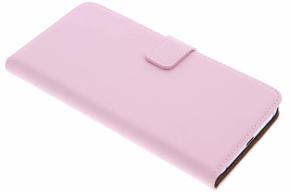 Selencia Luxe Book Case voor de Huawei Nexus 6P - Poederroze