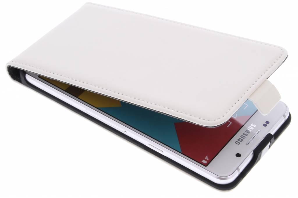 Mobiparts Premium Flipcase voor de Samsung Galaxy A5 (2016) - White