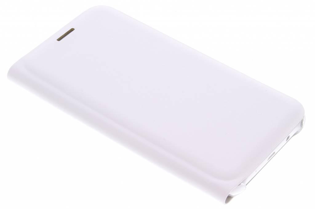Witte luxe slim booktype hoes voor de Samsung Galaxy J5