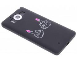 Glow in the dark TPU case Microsoft Lumia 950