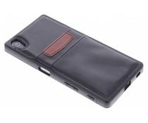 Lederen backcover met vakjes Sony Xperia Z5