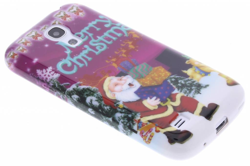 Christmas Edition TPU siliconen hoesje voor de Samsung Galaxy S4 Mini