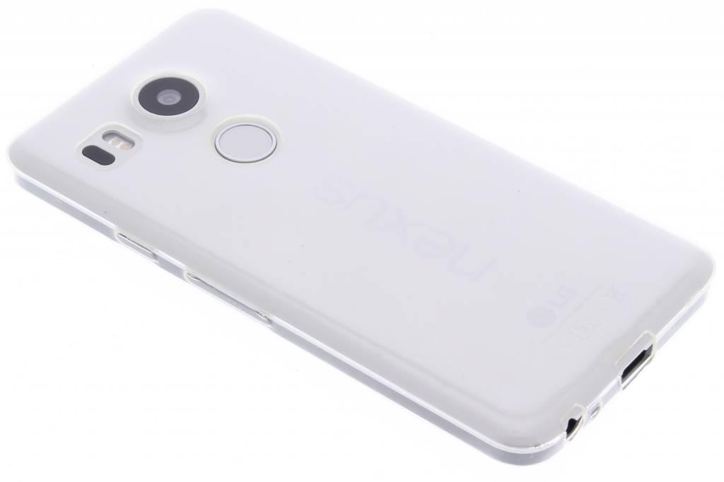 Ultra thin transparant TPU hoesje voor de LG Nexus 5X