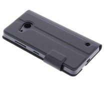 Mozo Book Cover Microsoft Lumia 550 - Black
