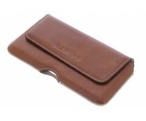 Mobiparts Oaked Cognac Excellent Belt Case - Size 4XL