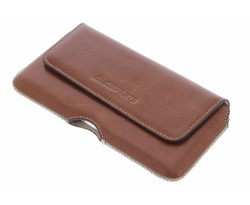 Mobiparts Oaked Cognac Excellent Belt Case - Size 4XL
