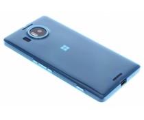 Blauw ultra thin transparant TPU hoesje Lumia 950 XL