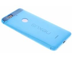 Blauw ultra thin transparant TPU hoesje Huawei Nexus 6P