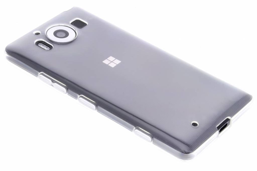 Transparante gel case voor de Microsoft Lumia 950