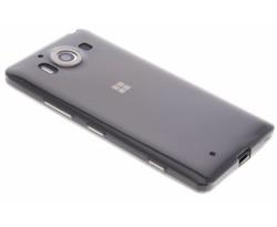 Grijs ultra thin transparant TPU hoesje Lumia 950