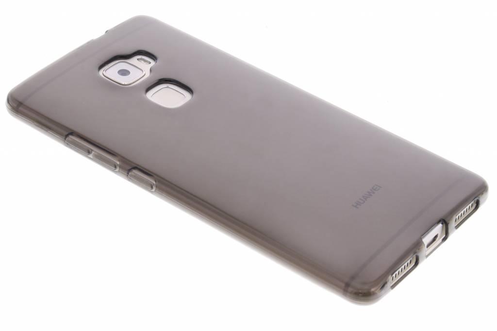 Grijze transparante gel case voor de Huawei Mate S