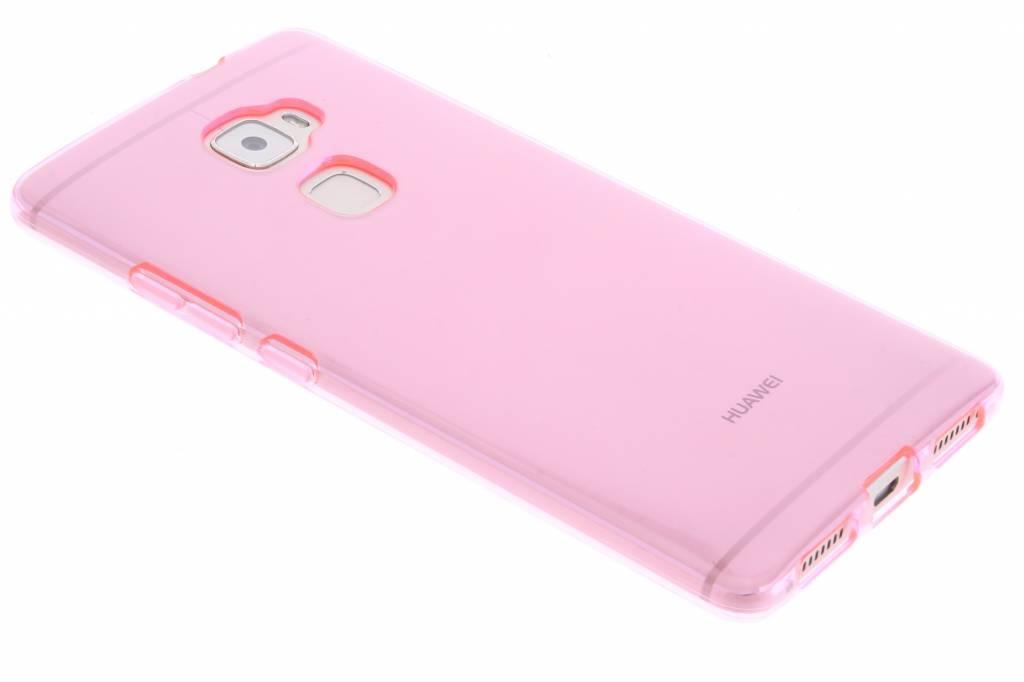 Cas De Gel Pourpre Transparent Pour Le Degré De Huawei 5GBWU3FIt