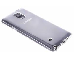 Transparant gel case Samsung Galaxy Note 4
