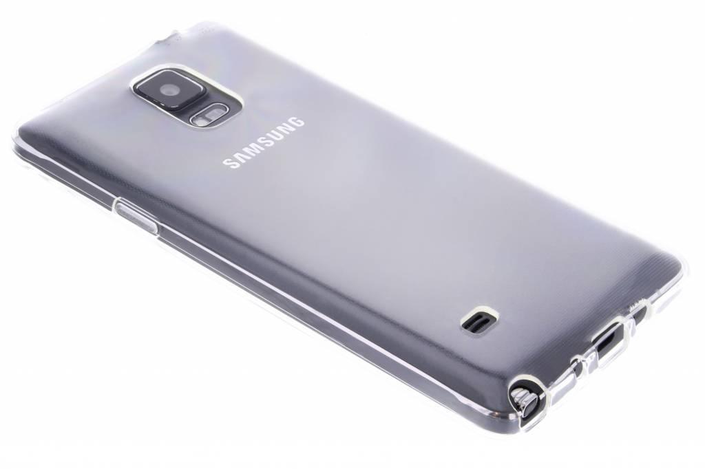 Transparante gel case voor de Samsung Galaxy Note 4