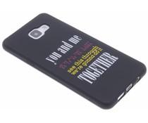 Glow in the dark TPU case Samsung Galaxy A5 (2016)