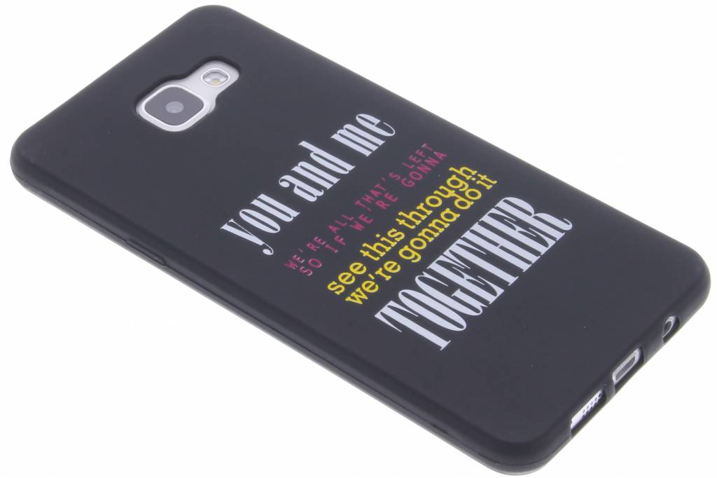 You and me Glow in the dark TPU case voor de Samsung Galaxy A5 (2016)