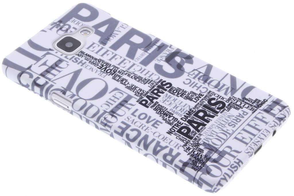 Parijs design hardcase voor de Samsung Galaxy A5 (2016)