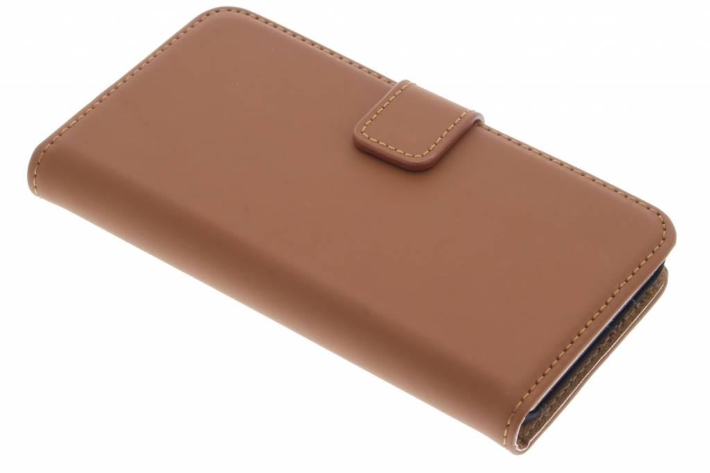 Selencia Luxe Book Case voor de Microsoft Lumia 550 - Bruin