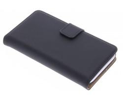 Selencia Luxe Book Case Wiko Sunset 2 - Zwart
