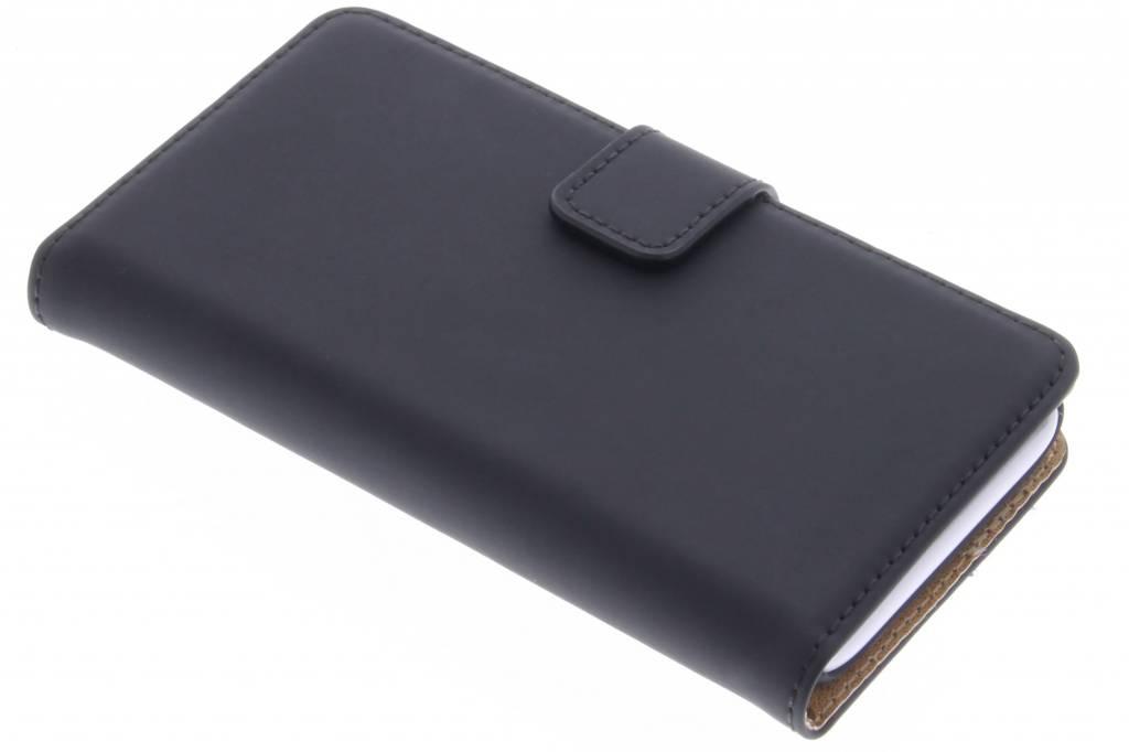 Selencia Luxe Book Case voor de Wiko Sunset 2 - Zwart