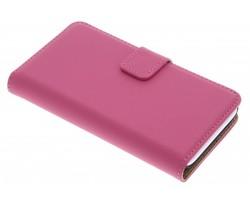Selencia Luxe Book Case Wiko Sunset 2 - Fuchsia