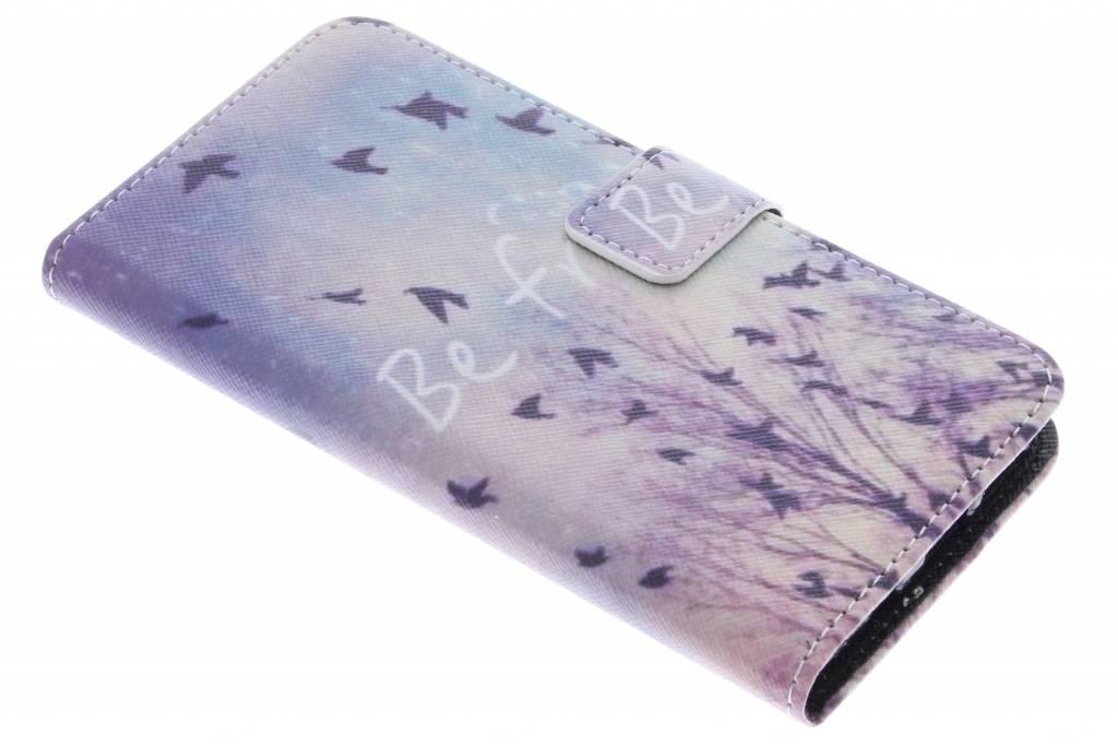 Be free design TPU booktype hoes voor de Samsung Galaxy S7