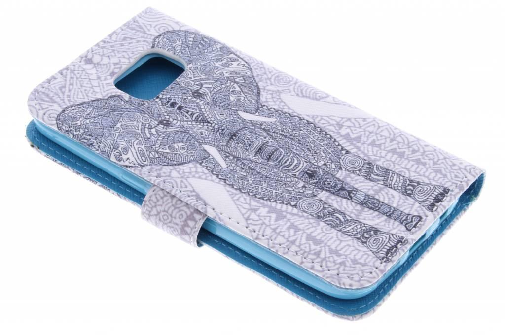 léphant Booktype Tpu Case Pour Samsung Galaxy S7 zHMlDq
