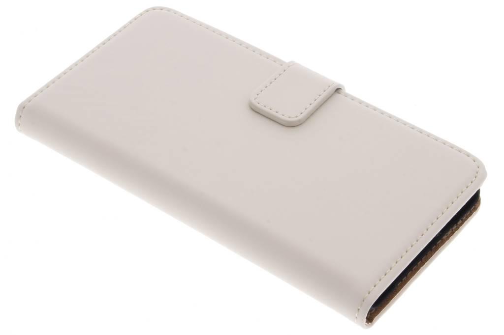 Selencia Luxe Book Case voor de OnePlus X - Gebroken wit