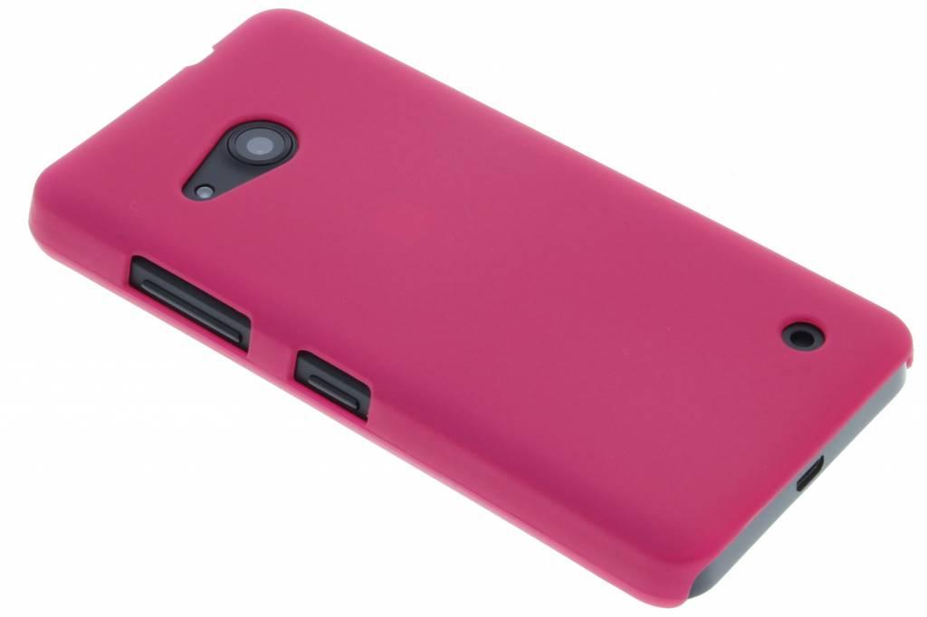 Fuchsia effen hardcase hoesje voor de Microsoft Lumia 550