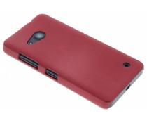 Rood effen hardcase hoesje Microsoft Lumia 550