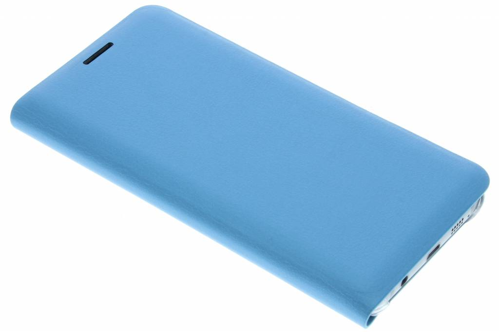Turquoise luxe slim booktype hoes voor de Samsung Galaxy A3 (2016)