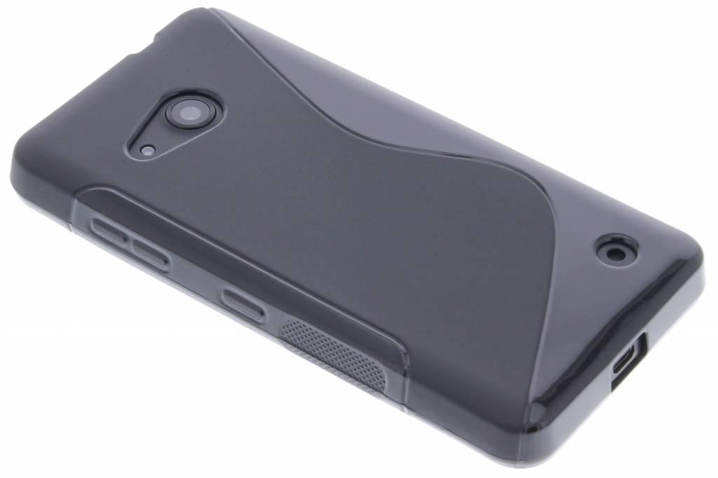 Zwart S-line TPU hoesje voor de Microsoft Lumia 550