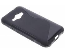 Zwart S-line TPU hoesje Samsung Galaxy J1 (2016)