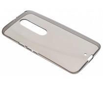 Grijs transparant gel case Motorola Moto X Style