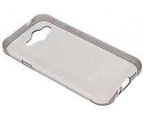 Grijs transparant gel case Samsung Galaxy J1 Ace